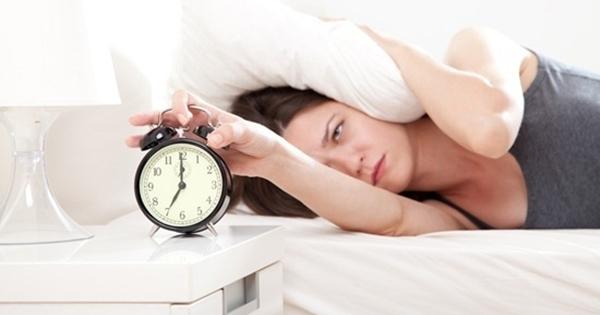 การนอนไม่หลับ  เสี่ยงกับภาวะโรคเครียด