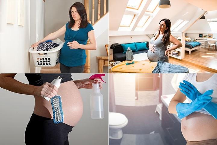 คุณแม่ตั้งครรภ์ -เมื่อต้องจัดห้อง