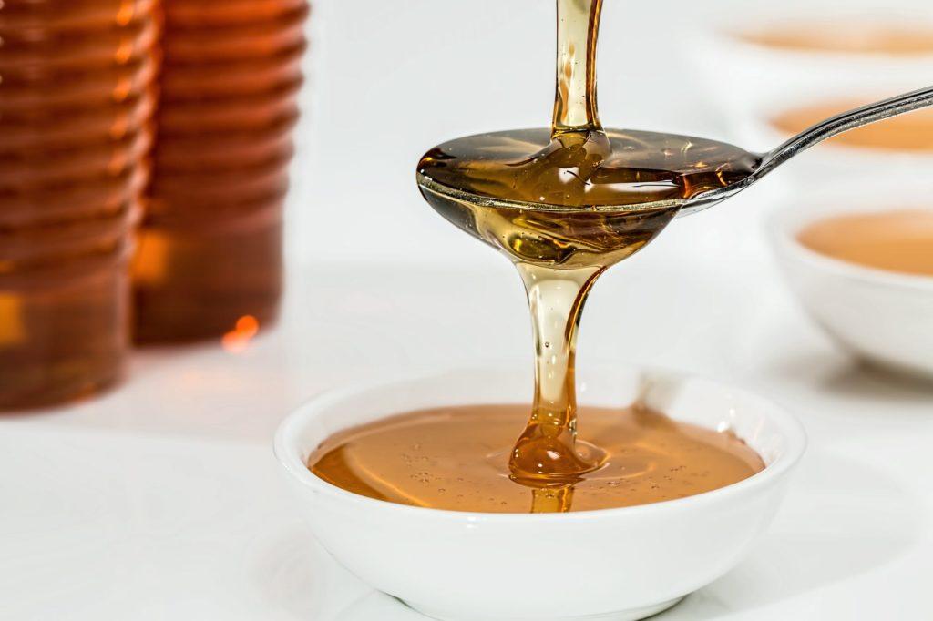 อาหารช่วยระงับอารมณ์ร้อน น้ำผึ่ง