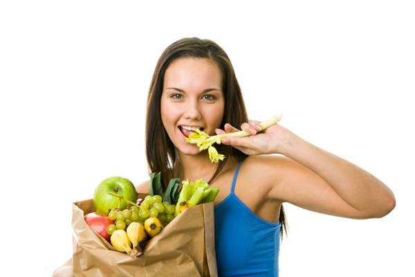 การดูแลสุขภาพ-รับประทานอาหารจำพวกผักผลไม้ใ