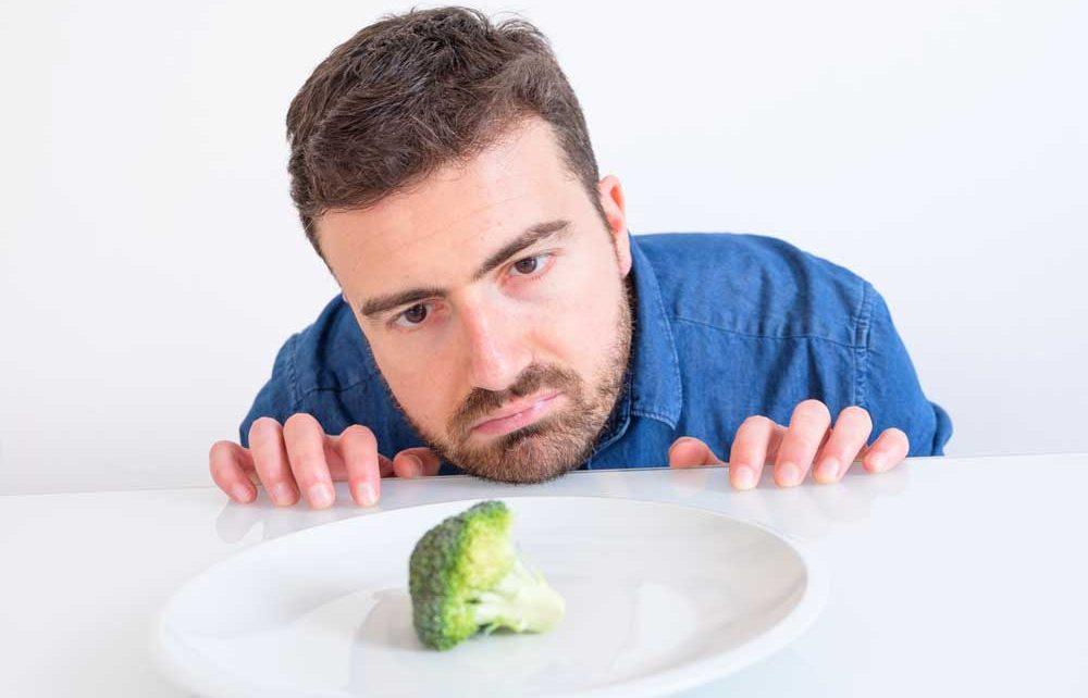 การไม่รับประทานผัก