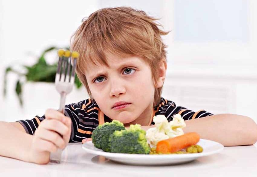 เด็กไม่ชอบกินผัก