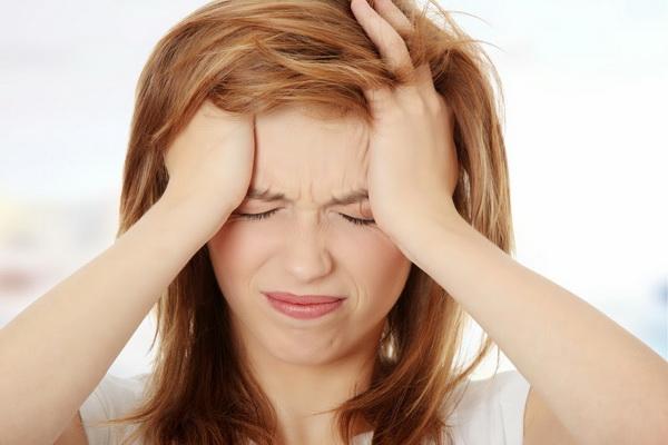 อาการปวดหัวไมเกรน จากความเครียด