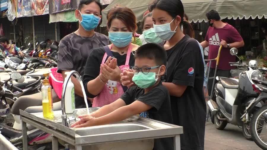 พฤติกรรมที่ควรทำเมื่อไปตลาด - ควรจะล้างมือทันที