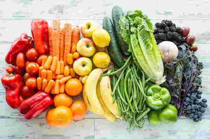 การเลือกรับประทานอาหาร - ผักและผลไม้ 2