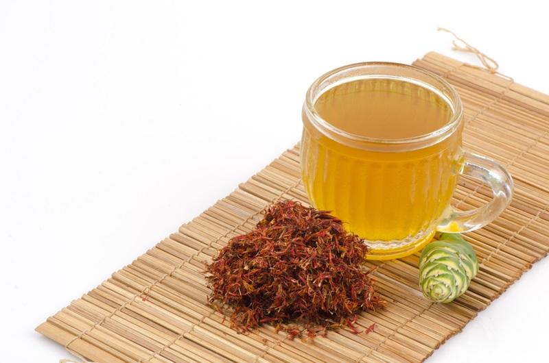 ชาสมุนไพร - ชาหญ้าฝรั่น